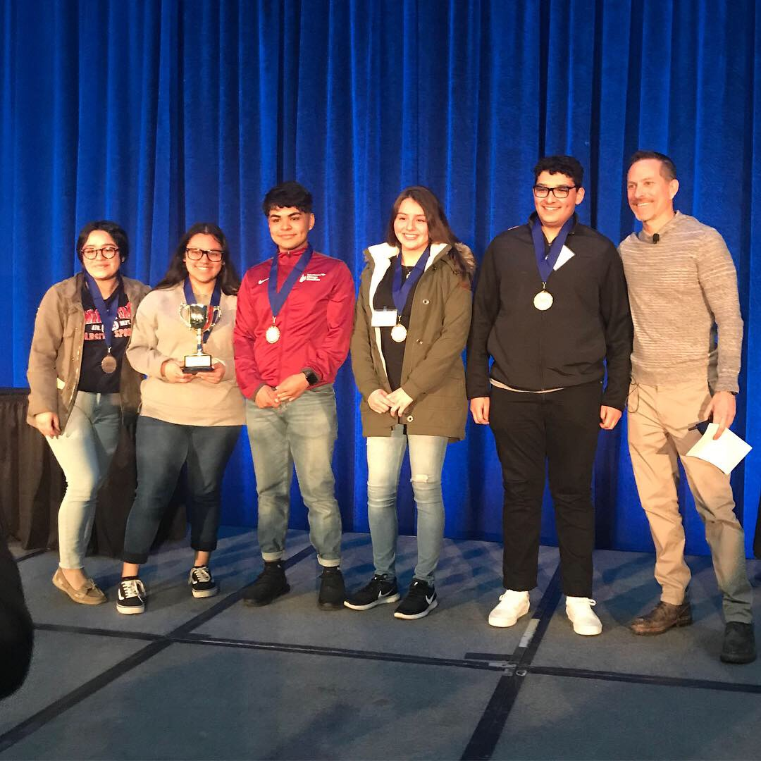 Personal Finance Club Places Third