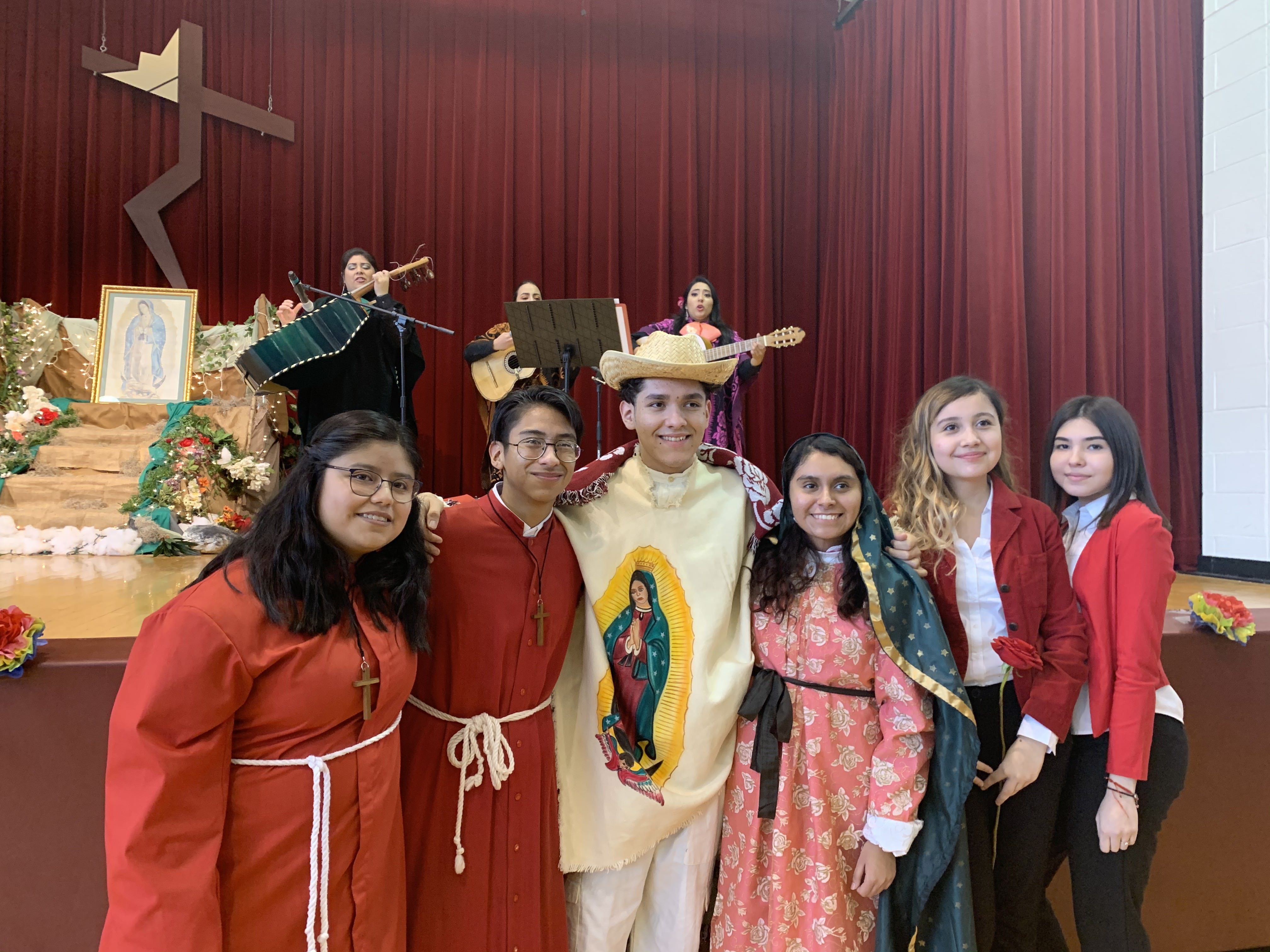 Cristo Rey's 24th Annual Our Lady of Guadalupe Mass and Celebration
